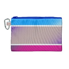 Pattern Template Banner Background Canvas Cosmetic Bag (large)