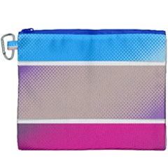 Pattern Template Banner Background Canvas Cosmetic Bag (xxxl)