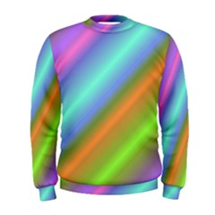Background Course Abstract Pattern Men s Sweatshirt