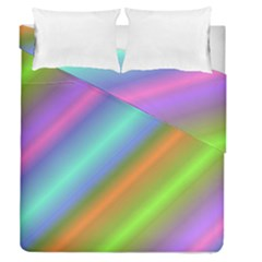 Background Course Abstract Pattern Duvet Cover Double Side (queen Size)