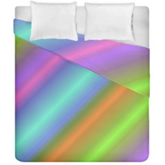 Background Course Abstract Pattern Duvet Cover Double Side (california King Size)