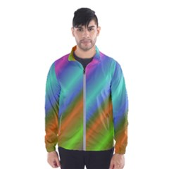 Background Course Abstract Pattern Wind Breaker (men)