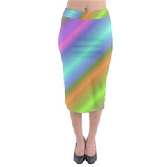 Background Course Abstract Pattern Midi Pencil Skirt