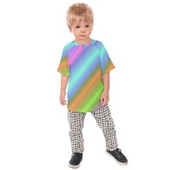 Background Course Abstract Pattern Kids Raglan Tee