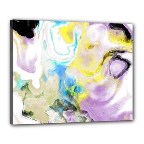 Watercolour Watercolor Paint Ink Canvas 20  X 16