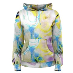 Watercolour Watercolor Paint Ink Women s Pullover Hoodie