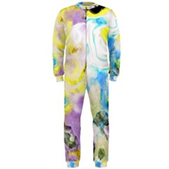 Watercolour Watercolor Paint Ink Onepiece Jumpsuit (men)