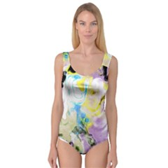 Watercolour Watercolor Paint Ink Princess Tank Leotard