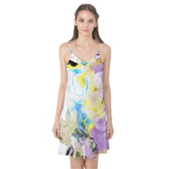 Watercolour Watercolor Paint Ink Camis Nightgown