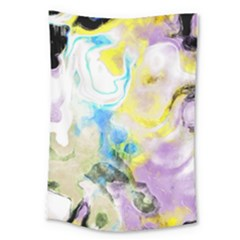 Watercolour Watercolor Paint Ink Large Tapestry