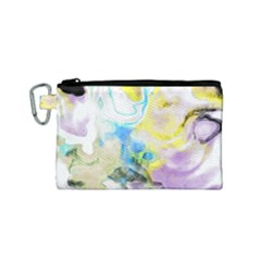 Watercolour Watercolor Paint Ink Canvas Cosmetic Bag (small)