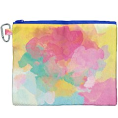 Watercolour Gradient Canvas Cosmetic Bag (xxxl)