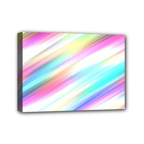 Background Course Abstract Pattern Mini Canvas 7  X 5