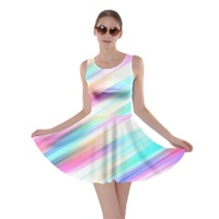 Background Course Abstract Pattern Skater Dress
