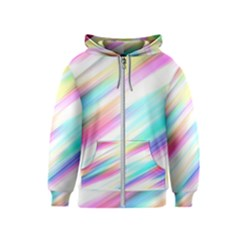 Background Course Abstract Pattern Kids  Zipper Hoodie