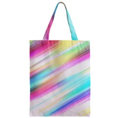 Background Course Abstract Pattern Zipper Classic Tote Bag