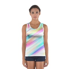 Background Course Abstract Pattern Sport Tank Top