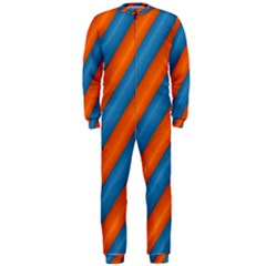 Diagonal Stripes Striped Lines Onepiece Jumpsuit (men)