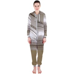 Staircase Berlin Architecture Hooded Jumpsuit (ladies)