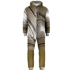 Staircase Berlin Architecture Hooded Jumpsuit (men)