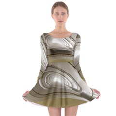 Staircase Berlin Architecture Long Sleeve Skater Dress