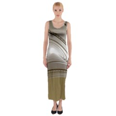 Staircase Berlin Architecture Fitted Maxi Dress