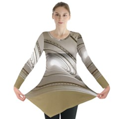 Staircase Berlin Architecture Long Sleeve Tunic