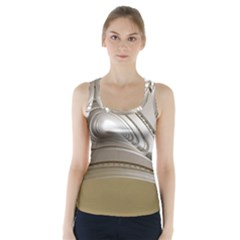 Staircase Berlin Architecture Racer Back Sports Top