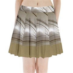 Staircase Berlin Architecture Pleated Mini Skirt