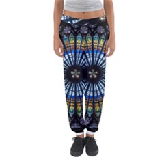 Rose Window Strasbourg Cathedral Women s Jogger Sweatpants