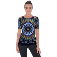 Rose Window Strasbourg Cathedral Short Sleeve Top