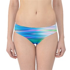 Wave Rainbow Bright Texture Hipster Bikini Bottoms