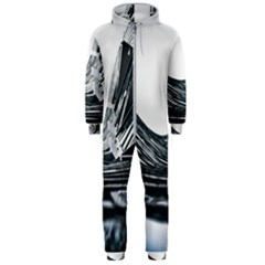 Architecture Modern Skyscraper Hooded Jumpsuit (men)