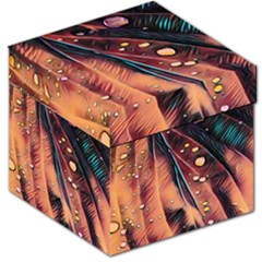 Abstract Wallpaper Images Storage Stool 12
