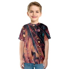 Abstract Wallpaper Images Kids  Sport Mesh Tee