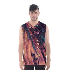 Abstract Wallpaper Images Men s Basketball Tank Top