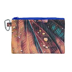 Abstract Wallpaper Images Canvas Cosmetic Bag (large)