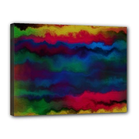 Watercolour Color Background Canvas 16  X 12