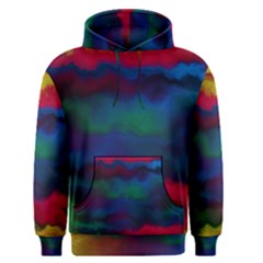 Watercolour Color Background Men s Pullover Hoodie
