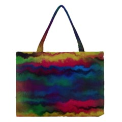 Watercolour Color Background Medium Tote Bag