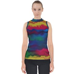 Watercolour Color Background Shell Top
