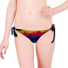 Watercolour Color Background Bikini Bottom