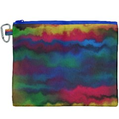 Watercolour Color Background Canvas Cosmetic Bag (xxxl)