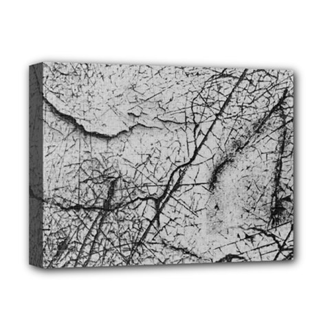 Abstract Background Texture Grey Deluxe Canvas 16  X 12