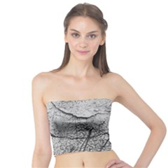 Abstract Background Texture Grey Tube Top
