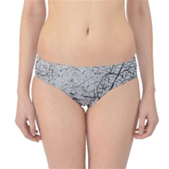 Abstract Background Texture Grey Hipster Bikini Bottoms