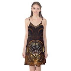 Fractal 3d Render Design Backdrop Camis Nightgown