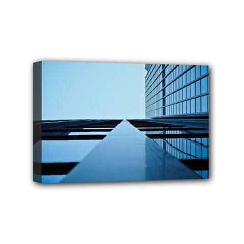 Architecture Modern Building Facade Mini Canvas 6  X 4