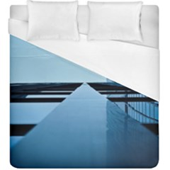 Architecture Modern Building Facade Duvet Cover (king Size)
