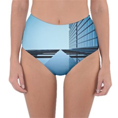 Architecture Modern Building Facade Reversible High Waist Bikini Bottoms
